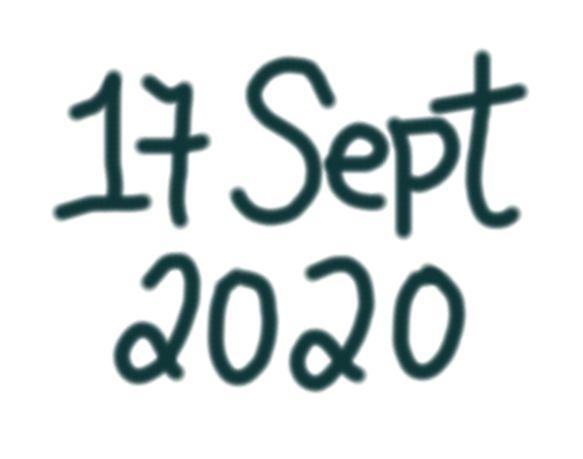 17 SEPT 2020